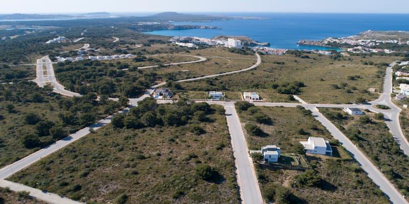 Coves Noves II Minorca land for sale